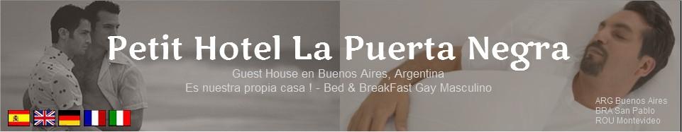 Inauguración del nuevo hotel La Puerta Negra en Buenos Aires
